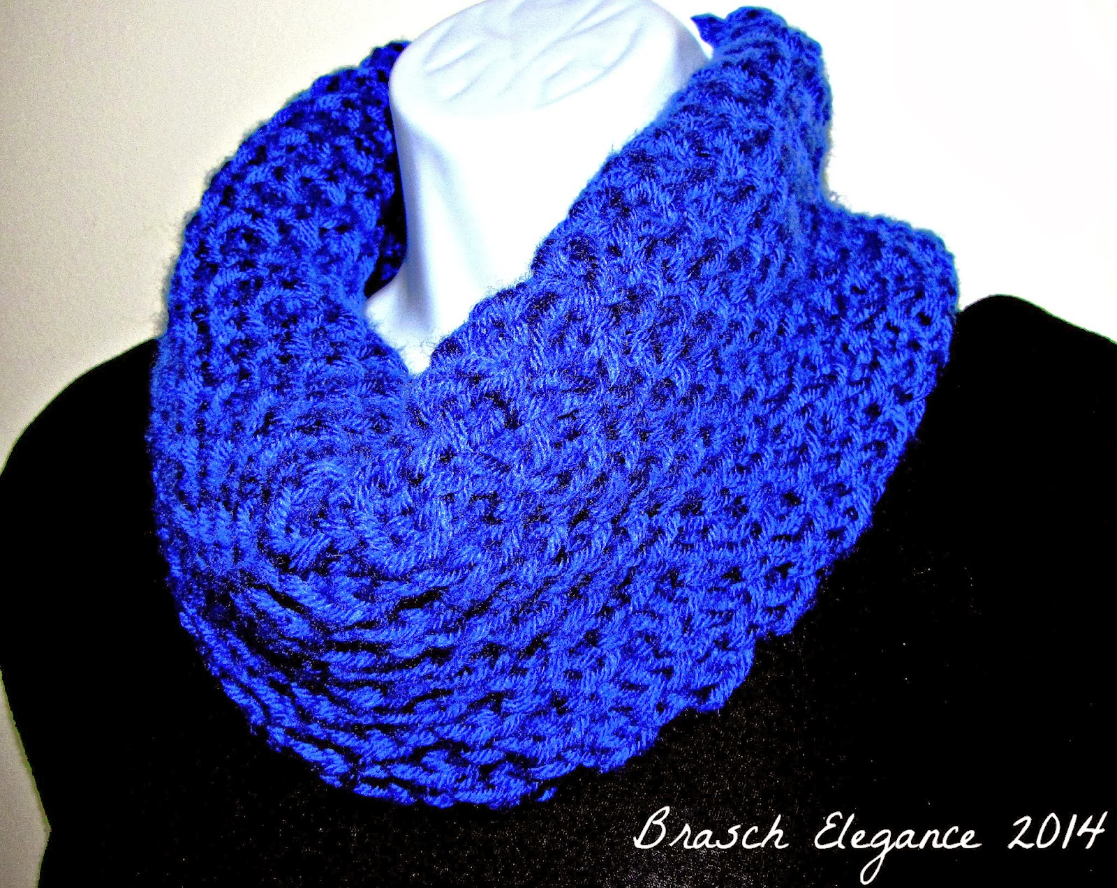Hannah S Honeycomb Infinity Scarf Free Knitting Pattern Everyday
