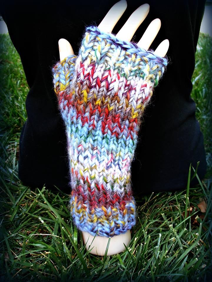 fingerless gloves – Everyday Yarnworks